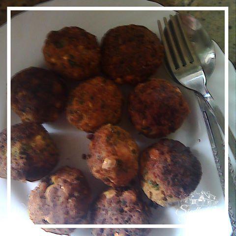 wegański przysmak z kuchni arabskiej, falafele